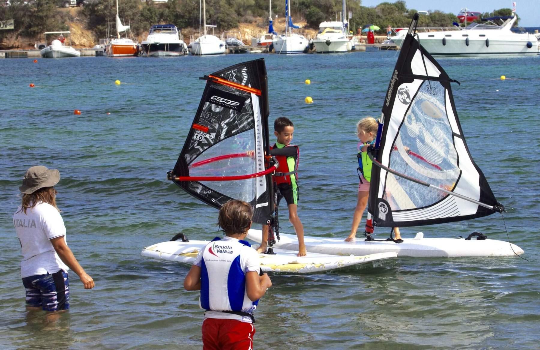 Lezioni individuali Windsurf