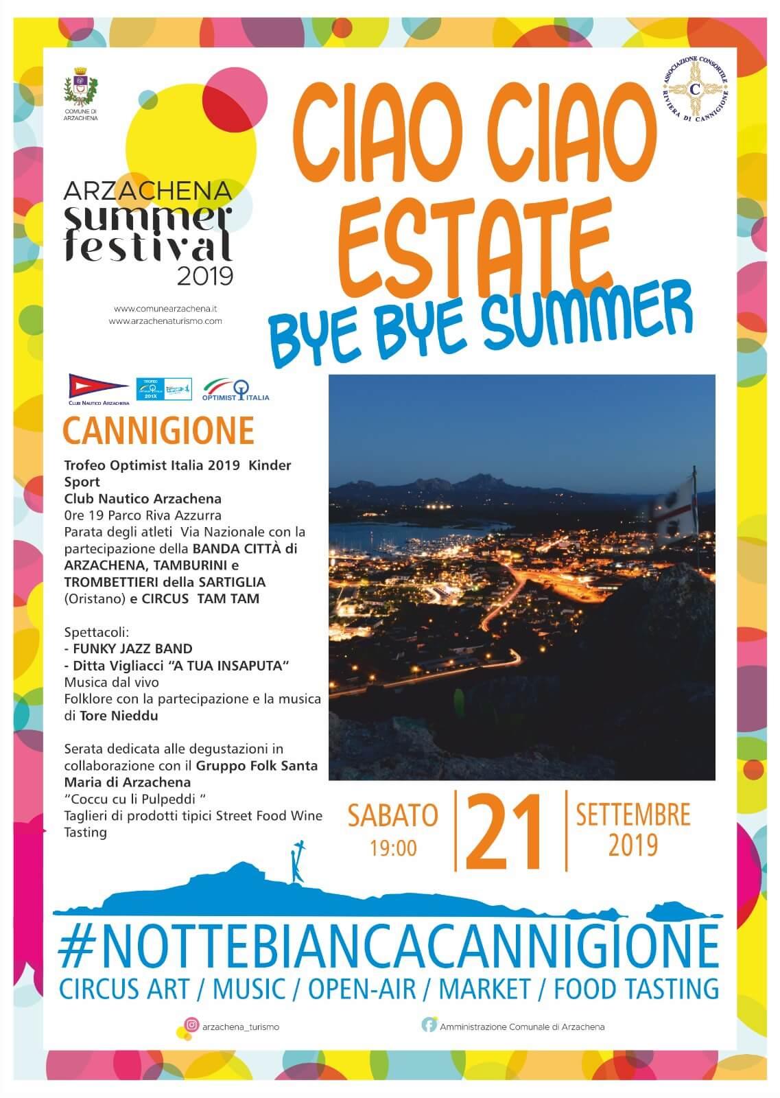 Ciao Ciao Estate Cannigione 2019